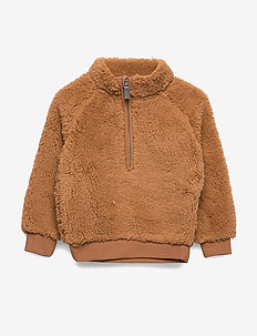 Mini teddy sweater - CAMEL