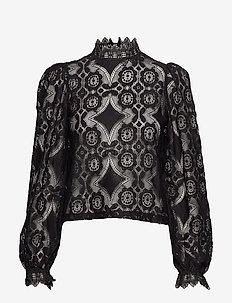 Zonya blouse - BLACK