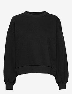 Basic sweater - BLACK
