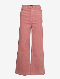 Fia corduroy trousers - OLD ROSE