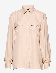 Elin utility shirt - ROSE CLOUD