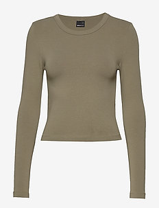 Blair top - KHAKI GREEN