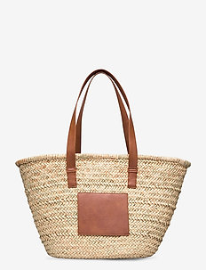 Jonna straw bag - casual shoppers - nature