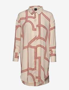 Millie tunic - GEOMETRIC AOP