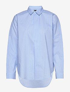 Blenda shirt - BLUE/WHITE STR