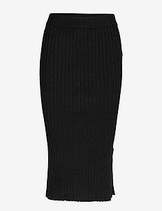 Emmy knitted skirt - BLACK