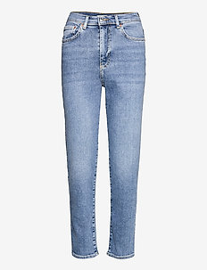Comfy mom jeans - mom jeans - indigo blue (5037)