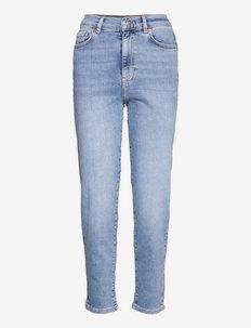 Comfy mom jeans - mom jeans - sky blue