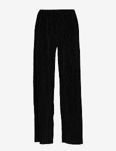 Emma trousers - casual byxor - black (9000)