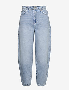 Slouchy mom jeans - mom jeans - lt blue