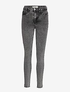 Molly highwaist jeans - skinny jeans - grey snow