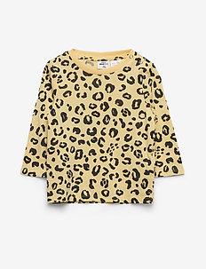 Mini baby long sleeve top - long-sleeved t-shirts - brush leo (2036)