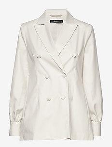 Sally blazer - blazers - white (1000)
