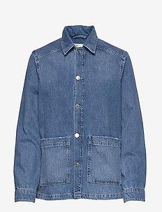 Me worker jacket - MID BLUE