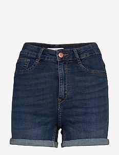 Molly denim shorts - korte spijkerbroeken - dk blue