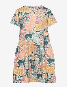 Mini bell dress - JUNGLE (7005)