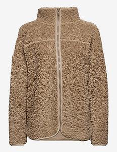 Marre jacket - sweatshirts - chinchilla (7193)