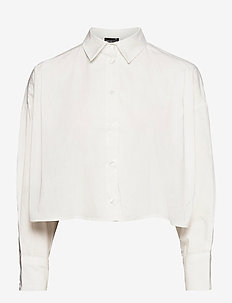 Briella shirt - long sleeved blouses - offwhite