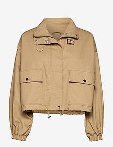 Vera utility jacket - vestes utilitaires - beige (1040)