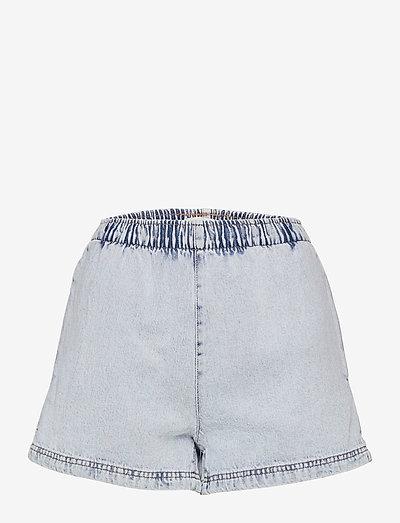 Easy denim shorts - korte jeansbroeken - lt blue