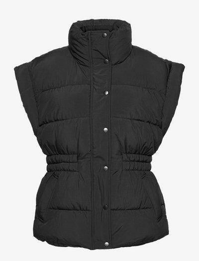 Lola puffer vest - polstrede vester - black (9000)