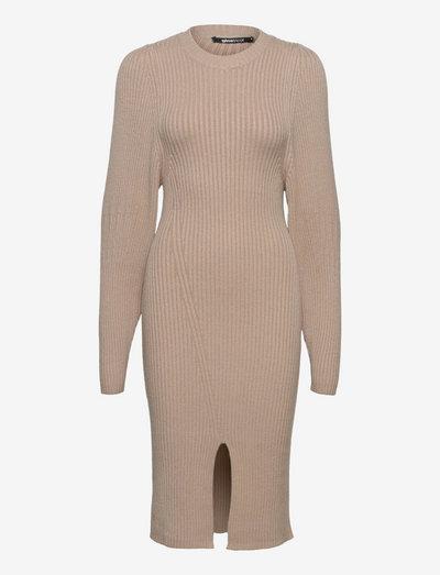 Kiara knitted dress - cocktail-kjoler - pure cashmere (7272)