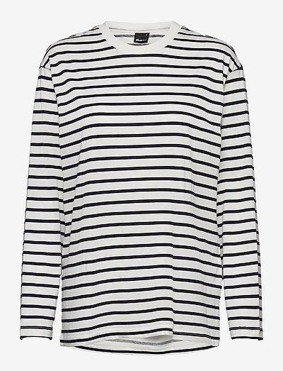 Lilo top - topy z długimi rękawami - navy/stripe