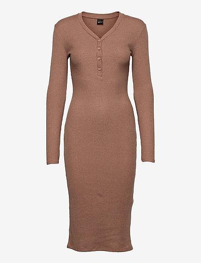 Eloise rib dress - sommerkjoler - antier (9693)