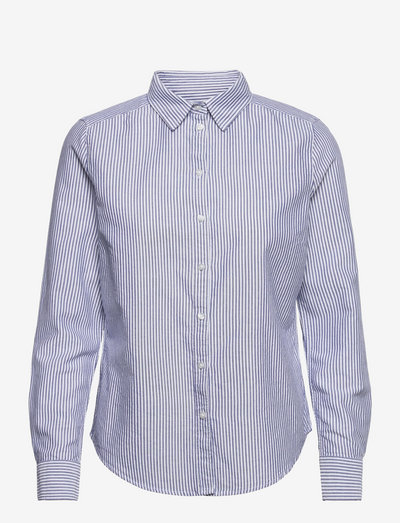 Jessie shirt - denimskjorter - white/cobolt (1705)