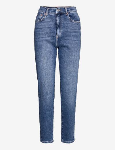 Comfy mom jeans - mom jeans - skyline blue (5062)
