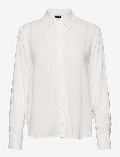 Hilma shirt - denimskjorter - white (1000)