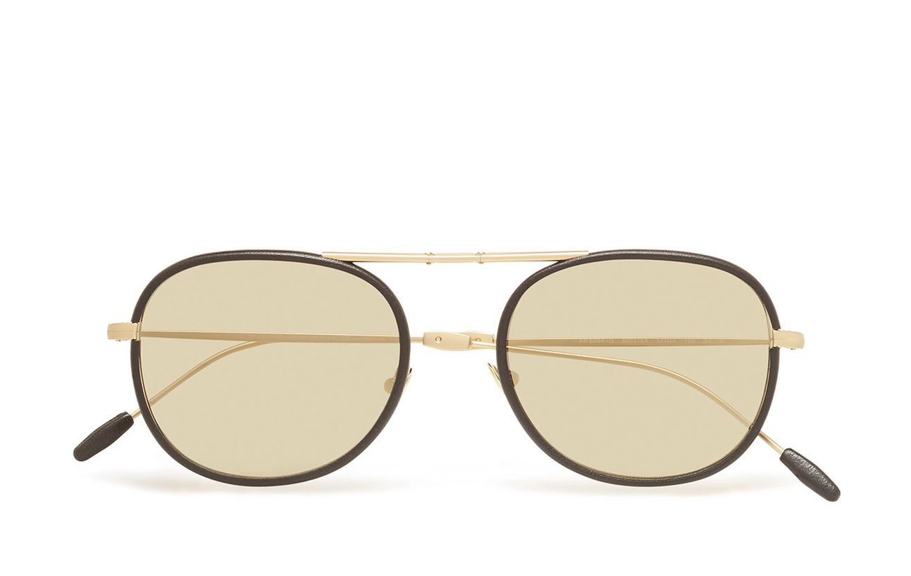 2972850c1d2 Metal Frame Sunglasses (Matte Pale Gold black) (£359) - Giorgio ...