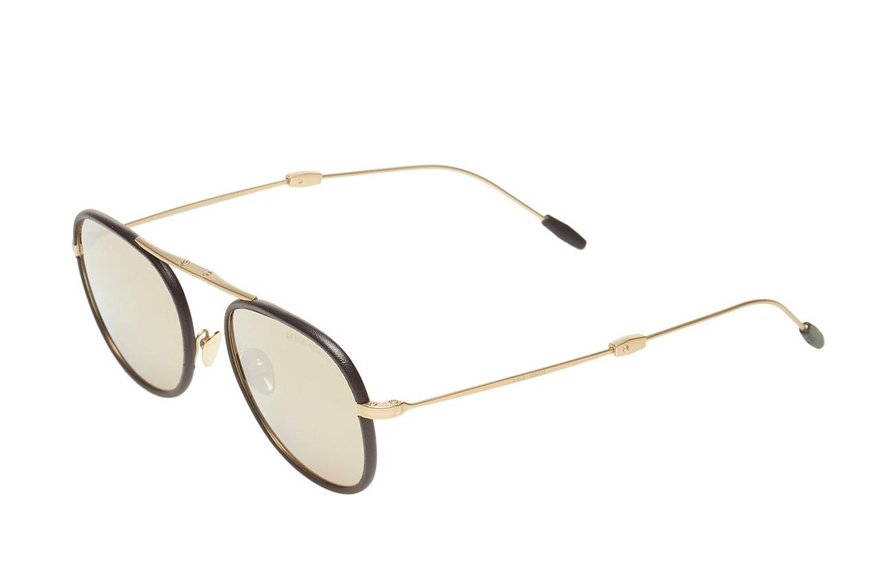 blackGiorgio Pale Gold Armani Sunglassesmatte Frame Metal mNP0Oyv8wn