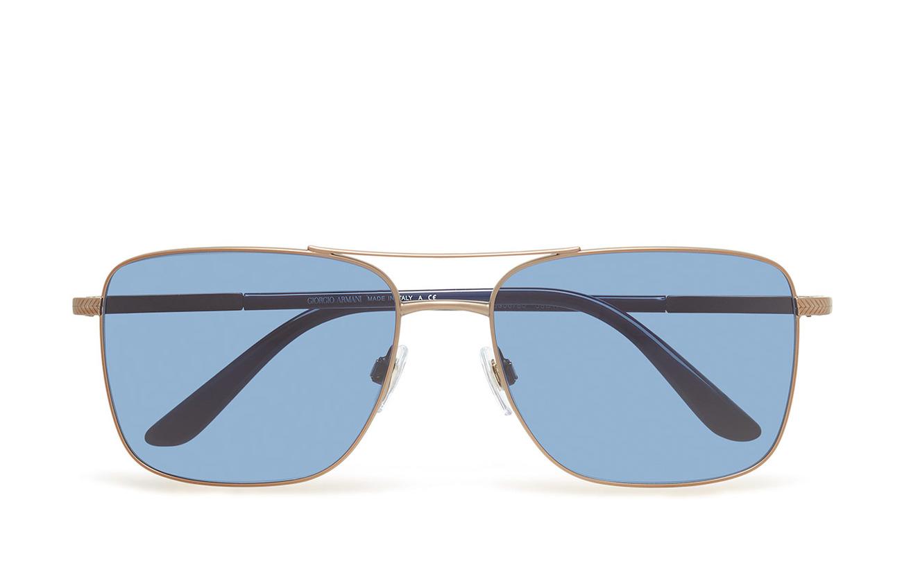 2ff86603c852 Metal Frame Sunglasses (Bronze) (£177) - Giorgio Armani Sunglasses ...