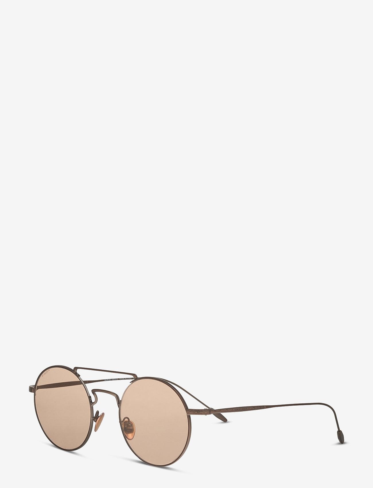 Giorgio Armani Sunglasses - 0AR6072 - rund ramme - matte bronze - 1