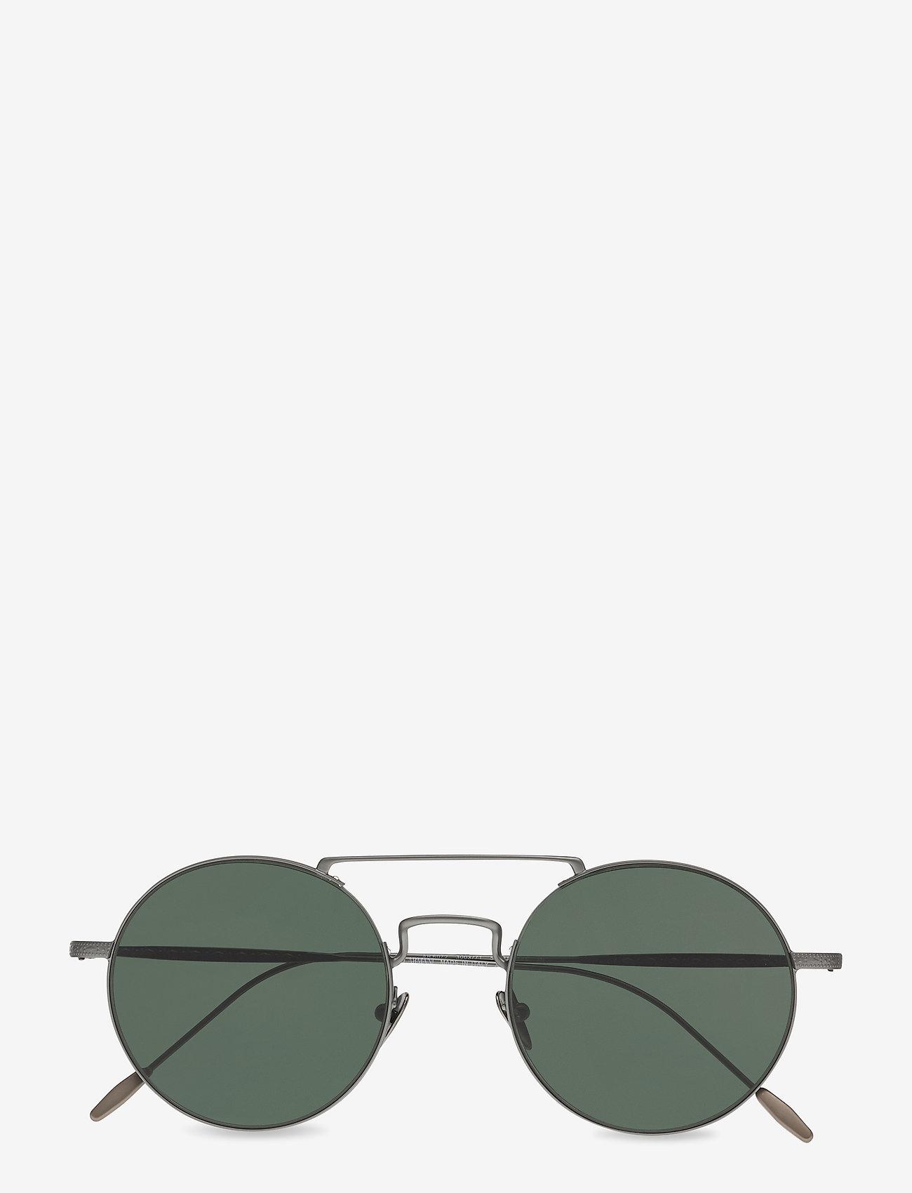 Giorgio Armani Sunglasses - 0AR6072 - rund ramme - matte gunmetal - 0