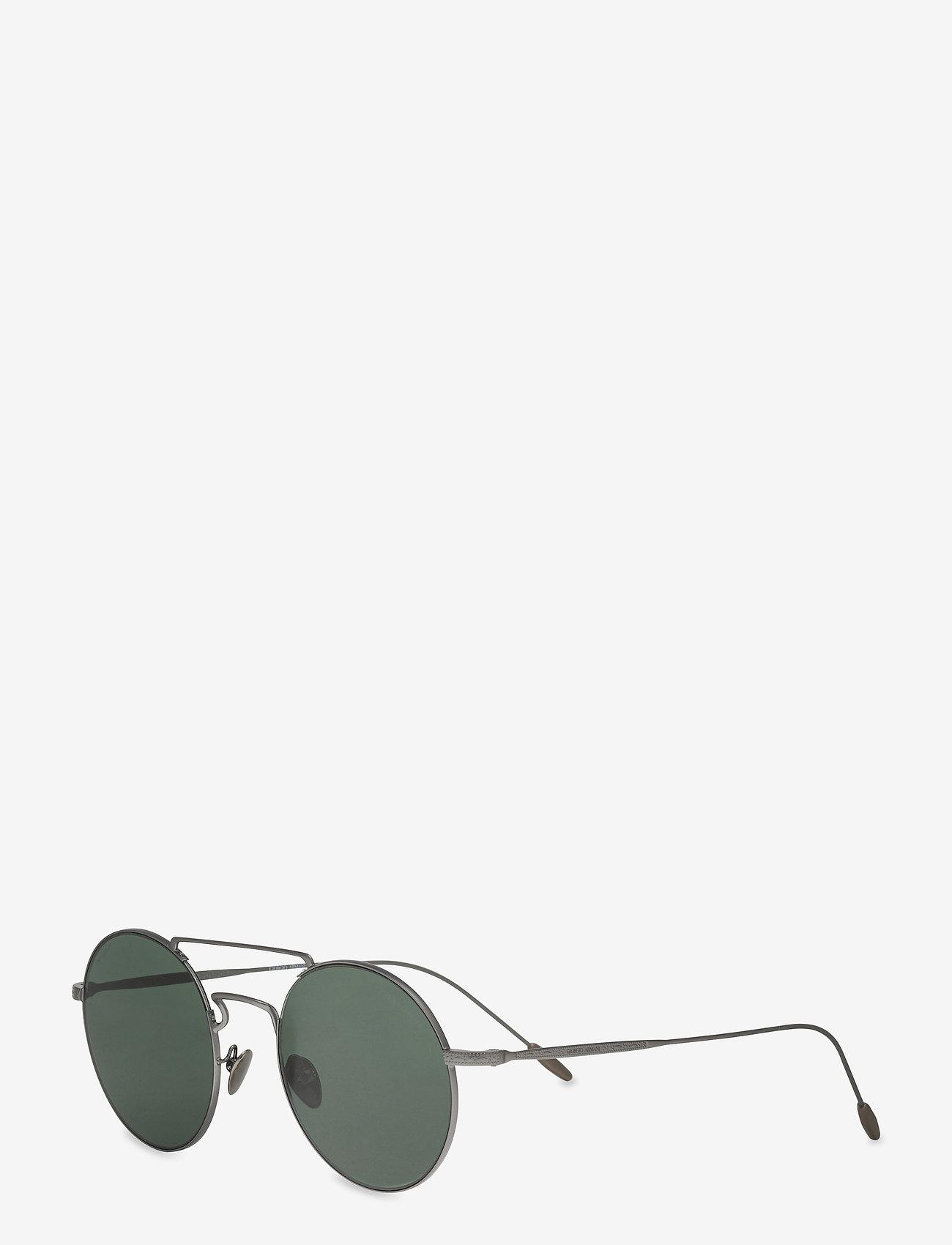 Giorgio Armani Sunglasses - 0AR6072 - rund ramme - matte gunmetal - 1
