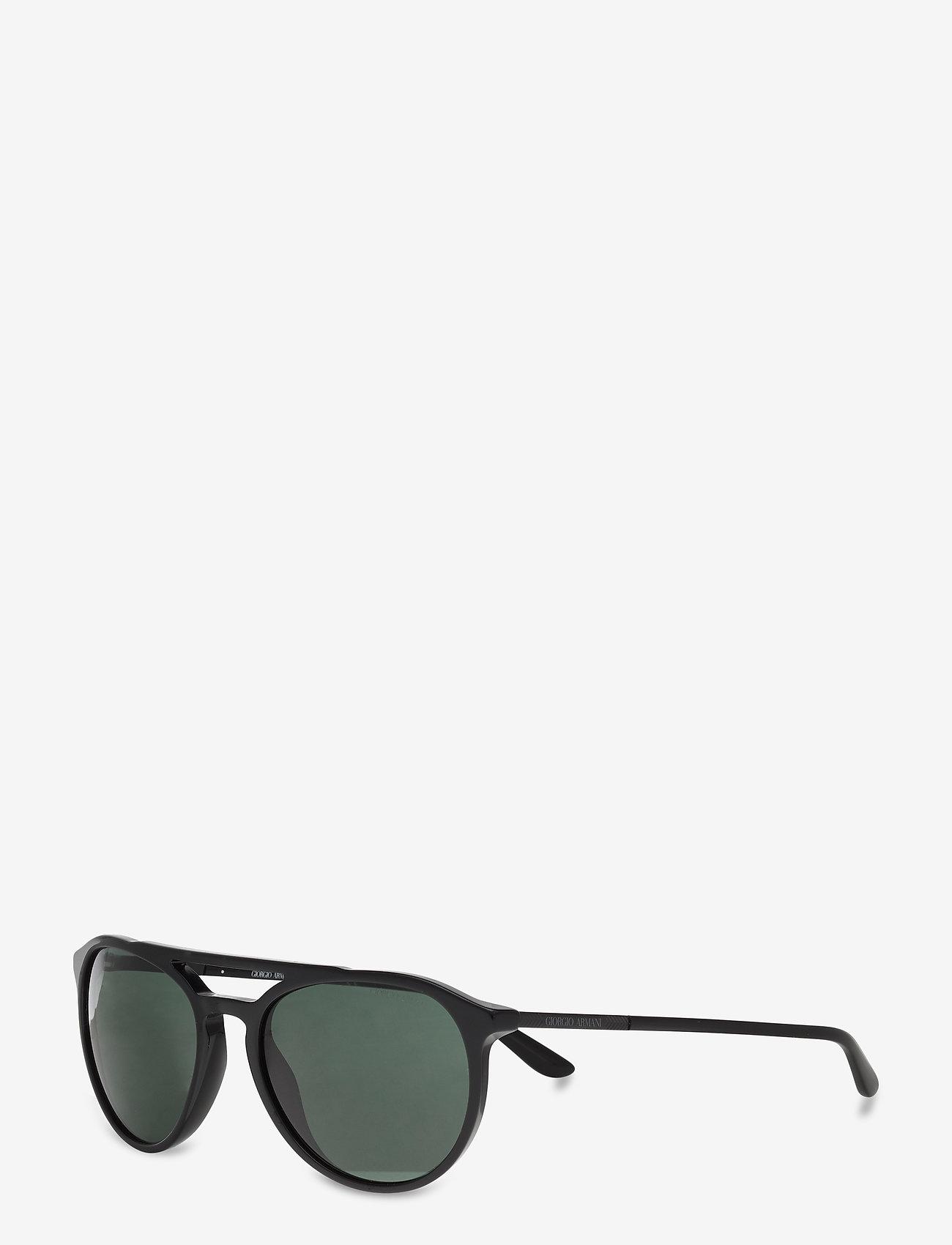 Giorgio Armani Sunglasses - 0AR8105 - rund ramme - black - 1