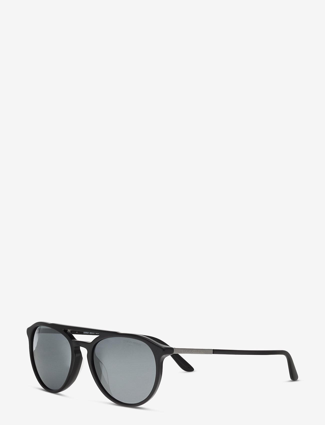 Giorgio Armani Sunglasses - 0AR8105F - d-shaped - black - 1