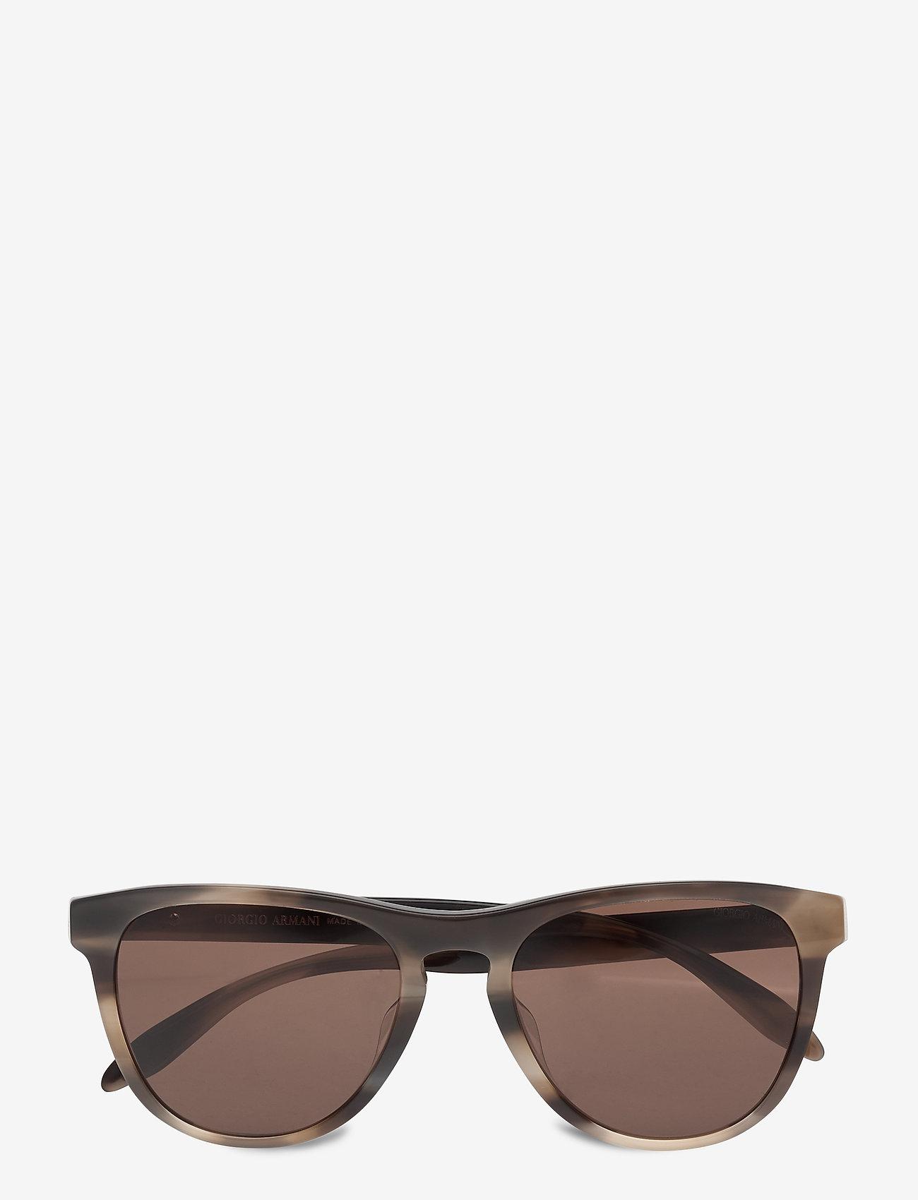 Giorgio Armani Sunglasses - 0AR8116F - d-shaped - striped grey - 0