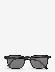 0AR8103F - okulary przeciwsłoneczne w kształcie litery d - black