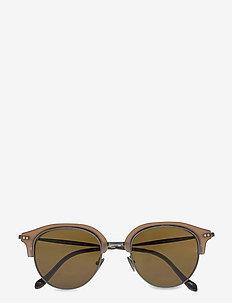 0AR8117 - round frame - matte beige/matte metal