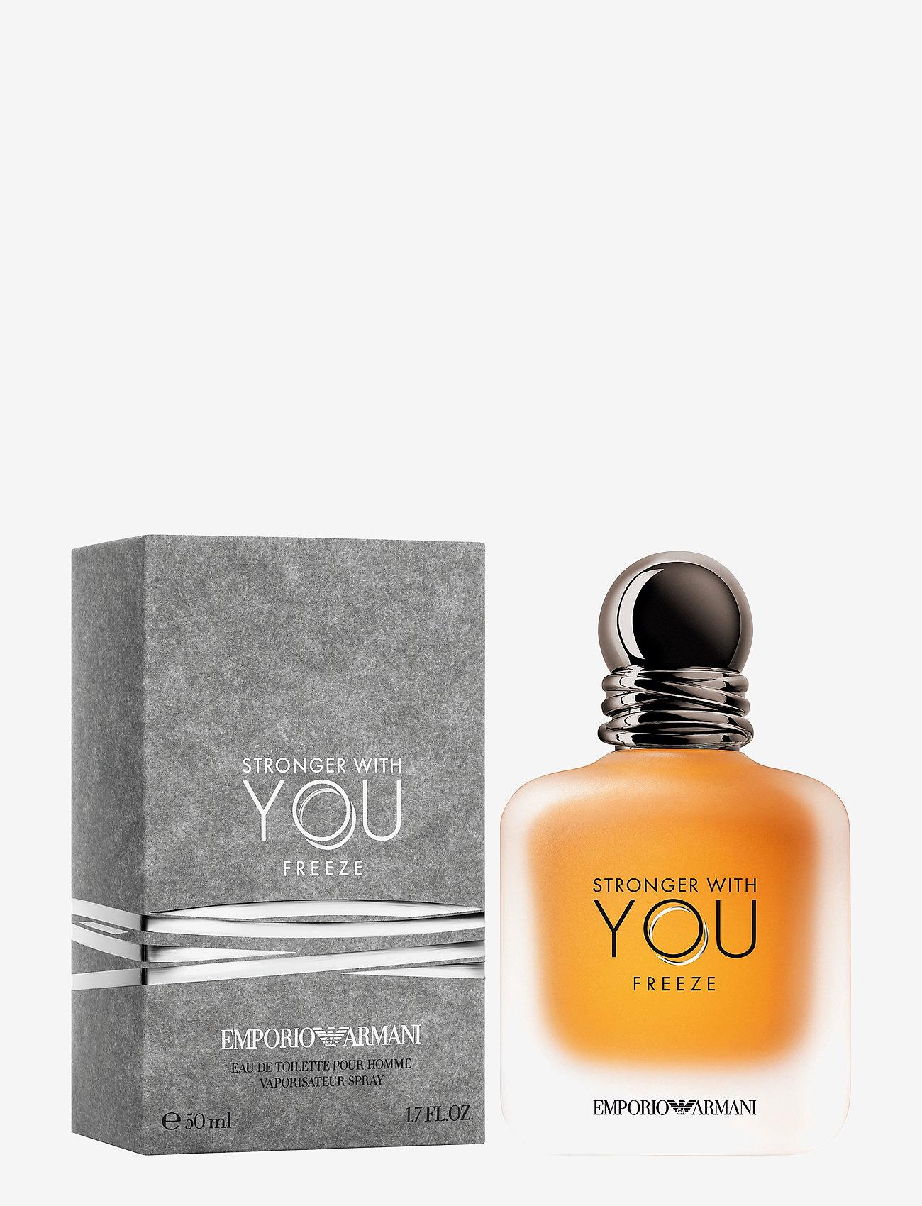 Giorgio Armani - Stronger With You Freeze Eau de Toilette - eau de toilette - clear