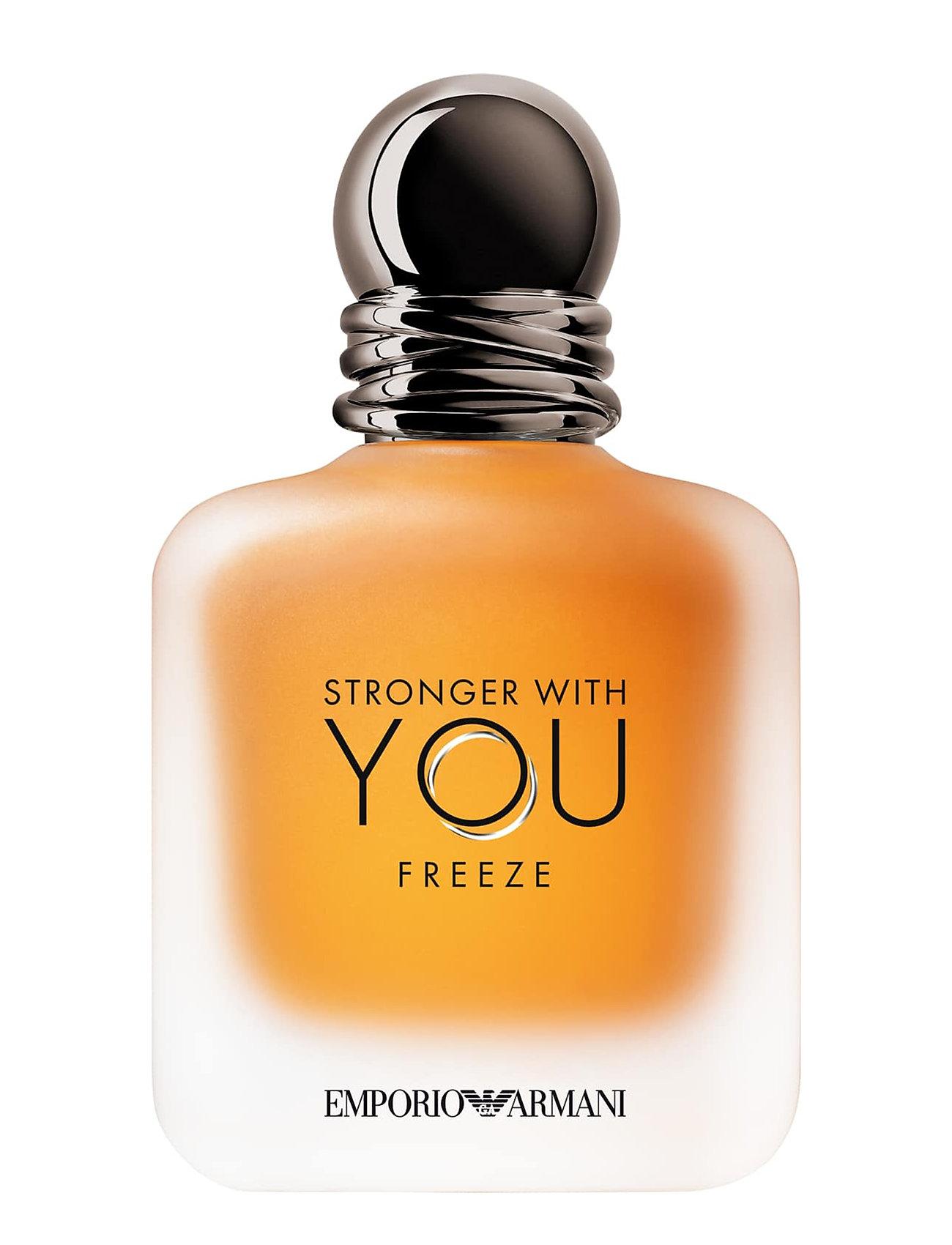 Giorgio Armani Ea Stronger With You Freeze Eau de Toilette - CLEAR