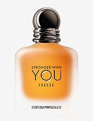 Giorgio Armani - Stronger With You Freeze Eau de Toilette - eau de toilette - clear - 0