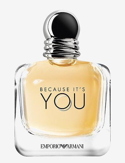Emporio Armani Because It's You Eau de Parfum 100 ml - parfyme - clear