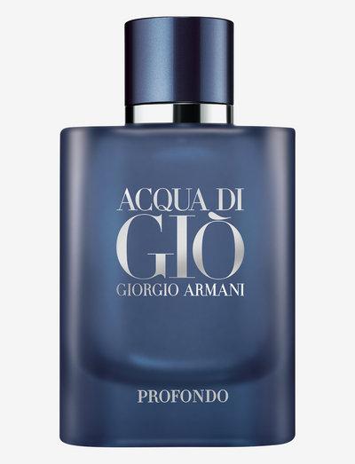 Giorgio Armani Acqua di Giò Profondo Eau de Parfum 75 ml - eau de parfum - clear