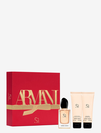 Giorgio Armani Sì Christmas Box - tuoksusetit - no colour
