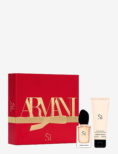 Giorgio Armani Sì Christmas Box - parfymesett - no colour