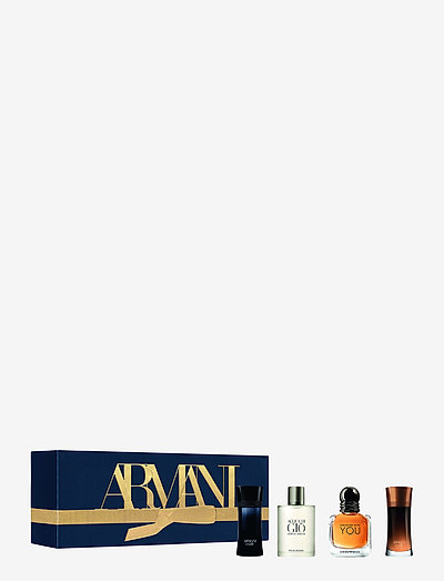 Giorgio Armani Men Miniatures Christmas Box - gavesett - no colour